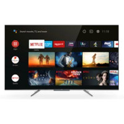 """TCL 65C715K 65"""" QLED 4K Ultra HD Smart Android TV with Voice Control"""