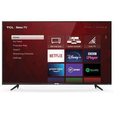 "TCL 43"" 43RP620K Roku Smart 4K Ultra HD HDR LED TV"