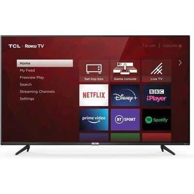 "Tcl 50"" 50RP620K Roku  Smart 4K Ultra HD HDR LED TV"