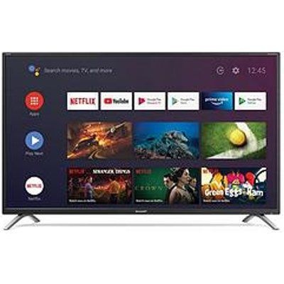 Sharp 4T-C42CL2KF2AB 4K UHD Android LED TV With Google Assistant And Chromecast Built-In