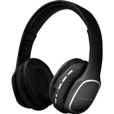 Volkano Phonic VK-2002-BK Wireless Bluetooth Headphones - Black
