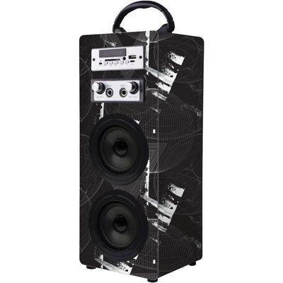 Volkano Carnival Series VK-3009-BK Portable Bluetooth Speaker - Black