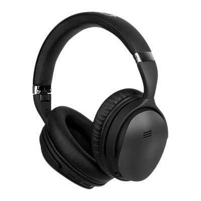 Volkano Silenco Series VK-2003-BK Wireless Bluetooth Noise-Cancelling Headphones - Black