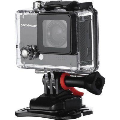 Volkano VBACAM-013BK 4K Ultra HD Action Camera - Black