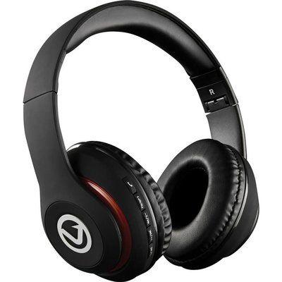 Volkano Impulse Series VB-VH100-BLK Wireless Bluetooth Headphones - Black