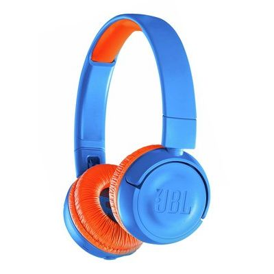 JBL JR300BT Wireless Bluetooth Kids Headphones - Rocker Blue