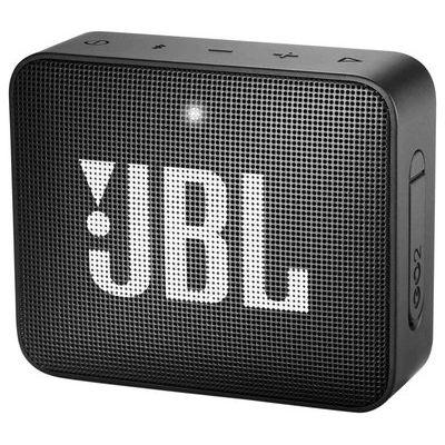 JBL GO2 Portable Bluetooth Speaker - Black