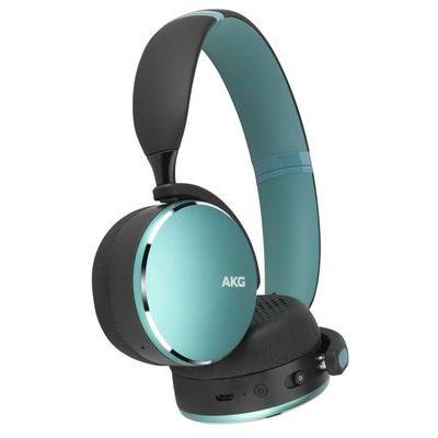 AKG Y500 Wireless Bluetooth Headphones - Ocean Green