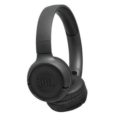JBL T500BT On-Ear Wireless Headphones - Black