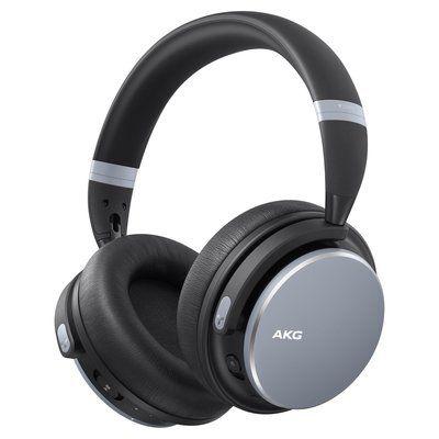 AKG Y600NC Over-Ear Wireless Bluetooth Headphones - Silver