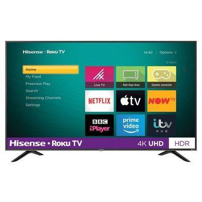 "Hisense Roku 55"" R55B7120UK 4K Smart HDR LED Freeview TV"
