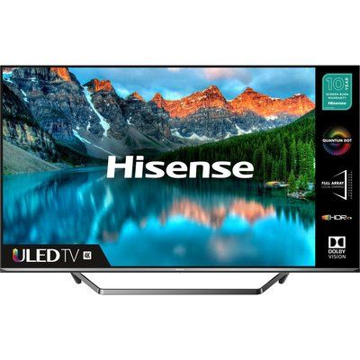 "Hisense 55U7QFTUK 55"" Smart 4K Ultra HD HDR QLED TV with Amazon Alexa"