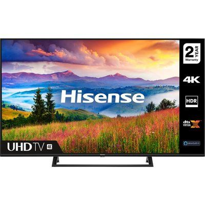 "Hisense 43A7300FTUK 43"" Smart 4K Ultra HD HDR LED TV with Amazon Alexa"