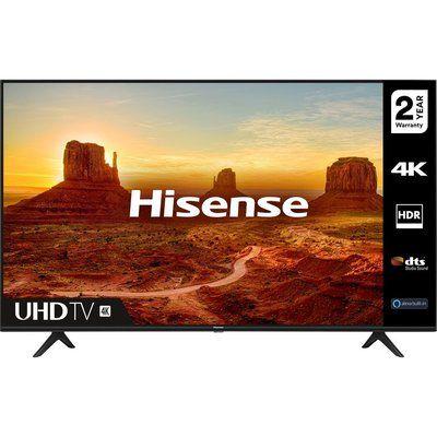 "Hisense 43A7100FTUK 43"" Smart 4K Ultra HD HDR LED TV with Amazon Alexa"