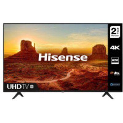 """Hisense H65A7100FTUK 65"""" 4K Ultra HD HDR Smart LED TV"""
