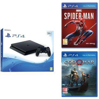 Sony PlayStation 4 & Marvels Spider-Man Bundle - 500 GB
