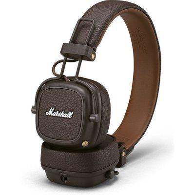 Marshall Major III Wireless Bluetooth Headphones - Brown