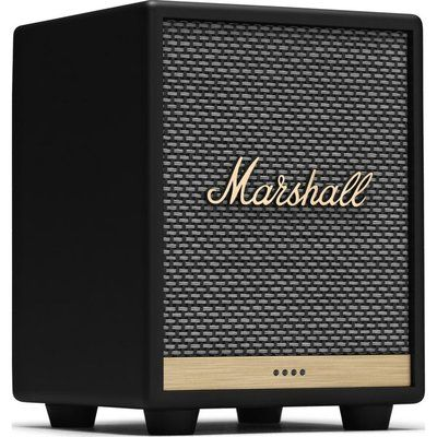 Marshall Uxbridge Wireless Multi-room Speaker with Amazon Alexa - Black