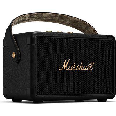 Marshall Kilburn II Portable Bluetooth Speaker - Black & Brass