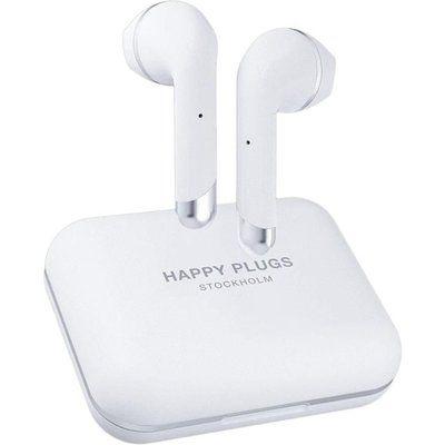 Happy Plugs Air 1 Plus Wireless Bluetooth Earphones - White