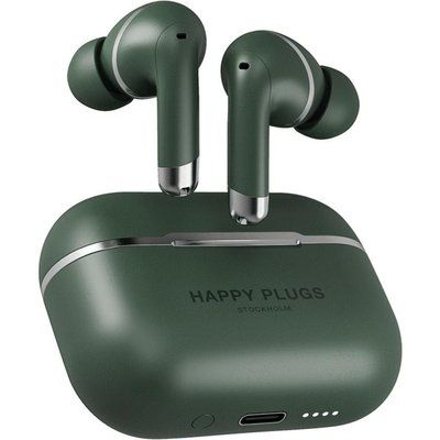 Happy Plugs Air 1 Wireless Bluetooth Noise-Cancelling Earphones - Green
