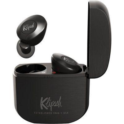 Klipsch T5 II Wireless Bluetooth Earphones - Black & Grey