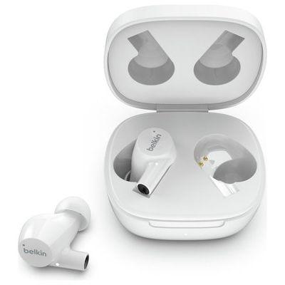 Belkin SoundForm Rise In-Ear True Wireless Earbuds - White