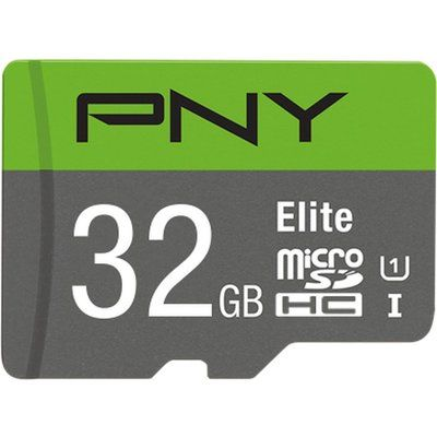 Pny Elite Class 10 microSDHC Memory Card - 32 GB