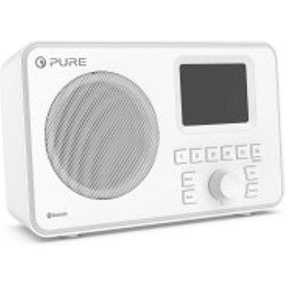 Pure ELAN-ONE FM/DAB+ Radio with Bluetooth - White