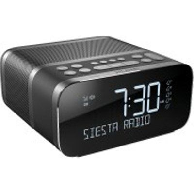 Pure Siesta S6 DAB+/FM Alarm Clock Radio with Bluetooth
