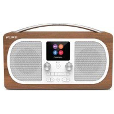 Pure EVOKE-H6-WALNUT DAB/DAB+ Stereo Bluetooth Radio