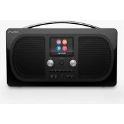 Pure EVOKE-H6-PRES-BK DAB/DAB+ Stereo Bluetooth Radio