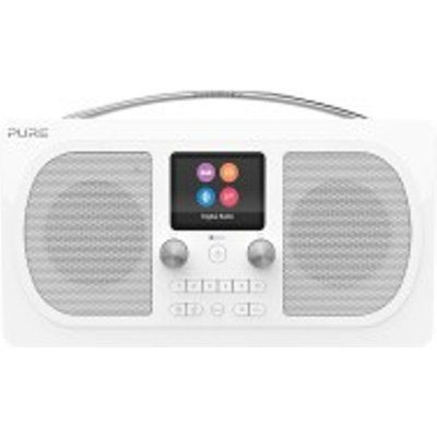 Pure EVOKE-H6-PRES-WH DAB/DAB+ Stereo Bluetooth Radio