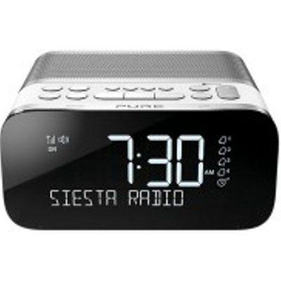 Pure Siesta S6 DAB/DAB+/FM Bluetooth Bedside Clock Radio