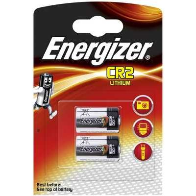 Energizer Lithium CR2 Batteries - Pack of 2