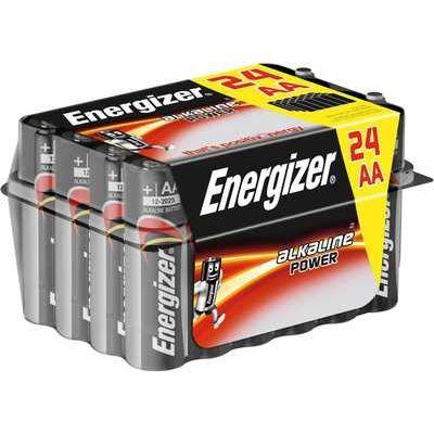 Energizer Power Alkaline AA Batteries - Pack of 24