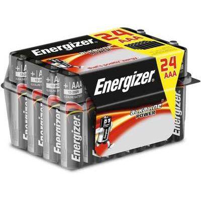 Energizer Power Alkaline AAA Batteries - Pack of 24
