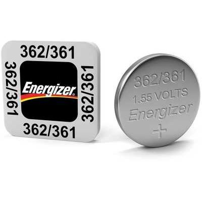 Energizer SR58/S40 362/361 Silver Oxide Coin Cell Batteries - Pack of 10