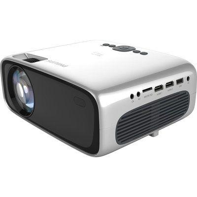Philips NeoPix Prime 2 NPX542/INT HD Ready Mini Projector - Grey & Silver
