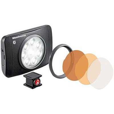 Manfrotto Lumimuse 8 LED Camera Light with Bluetooth Wireless Technology - Black