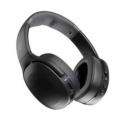 SkullCandy Crusher Evo Wireless Bluetooth Over-Ear Headphones - True Black