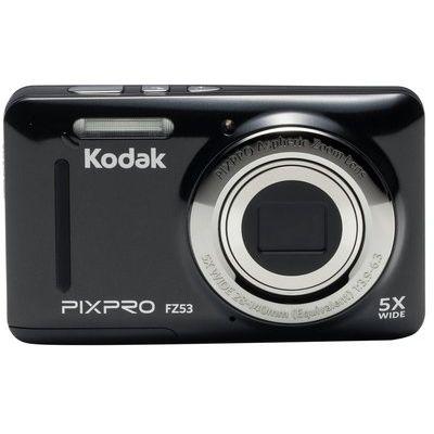 Kodak FZ53 16MP 5x Zoom Digital Compact Camera - Black