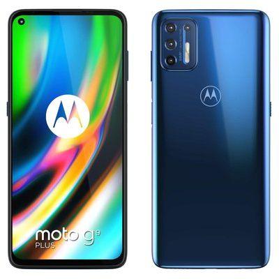 Motorola G9 Plus 128GB in Navy Blue