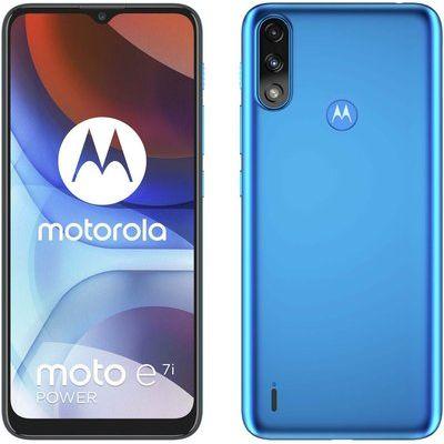 Motorola E7i 32GB in Tahiti Blue