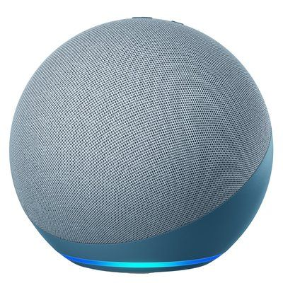 Amazon Echo 4th Gen Smart Speaker With Alexa- Blue