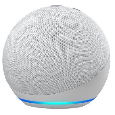 Amazon Echo Dot 4th Gen Smart Speaker with Alexa - White