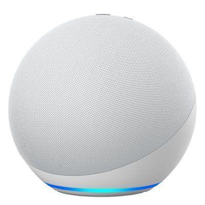 Amazon Echo 4th Gen Smart Speaker With Alexa - White