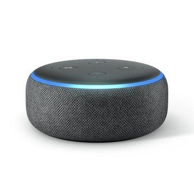 Amazon Echo Dot Smart Speaker with Alexa - Black