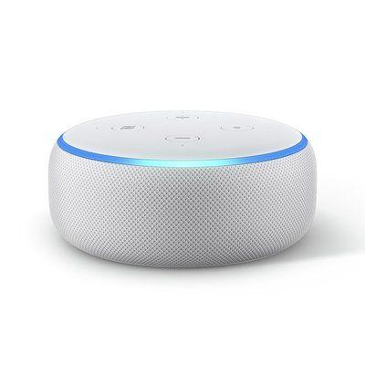 Amazon Echo Dot Smart Speaker with Alexa - White