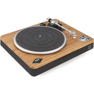 House of Marley HOUSE Of MARLEY Stir It Up Wireless Belt Drive Bluetooth Turntable - Bamboo